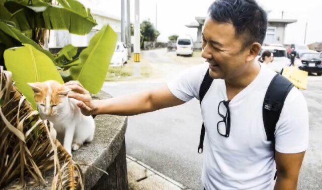 山本太郎と猫ちゃん